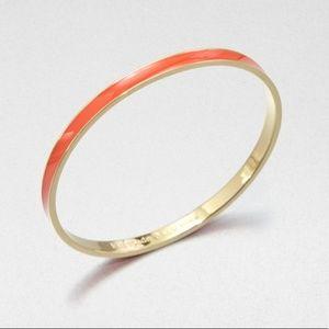NWOT Kate Spade Sparks Fly Orange Bangle Bracelet